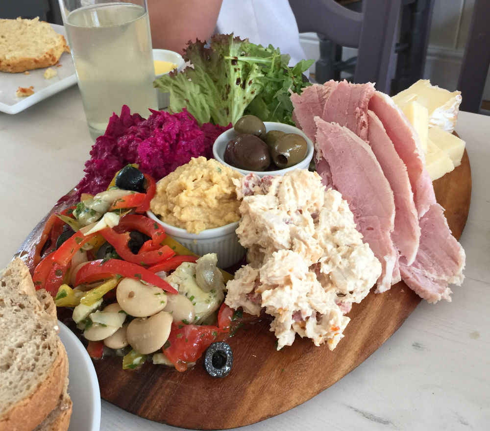Shared Platter from the Earsham Street Cafe