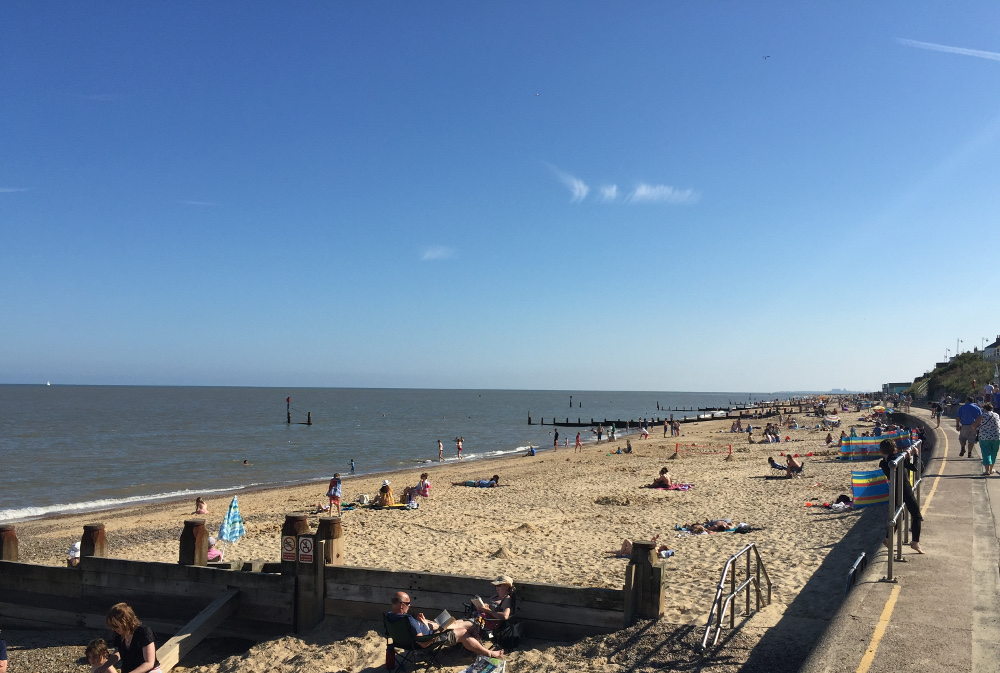 The beach at Southwold